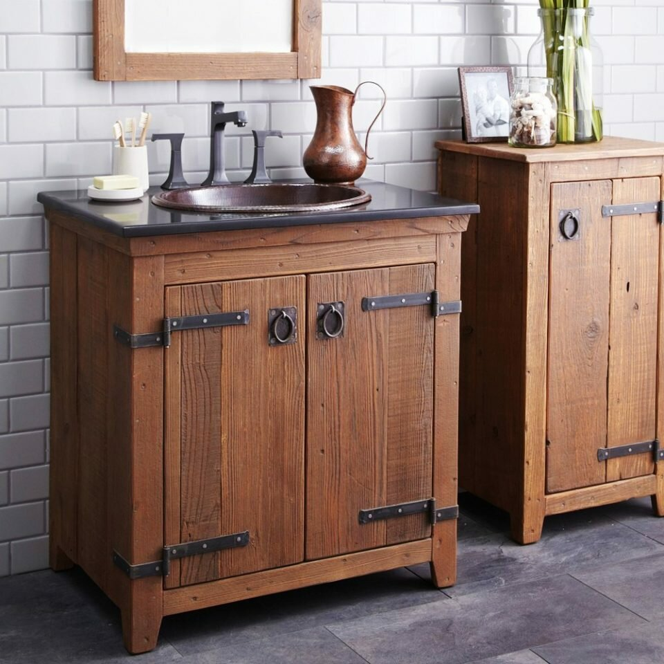 Pottery Barn Vanity | West Elm Vanity | Pottery Barn Bathroom Cabinet