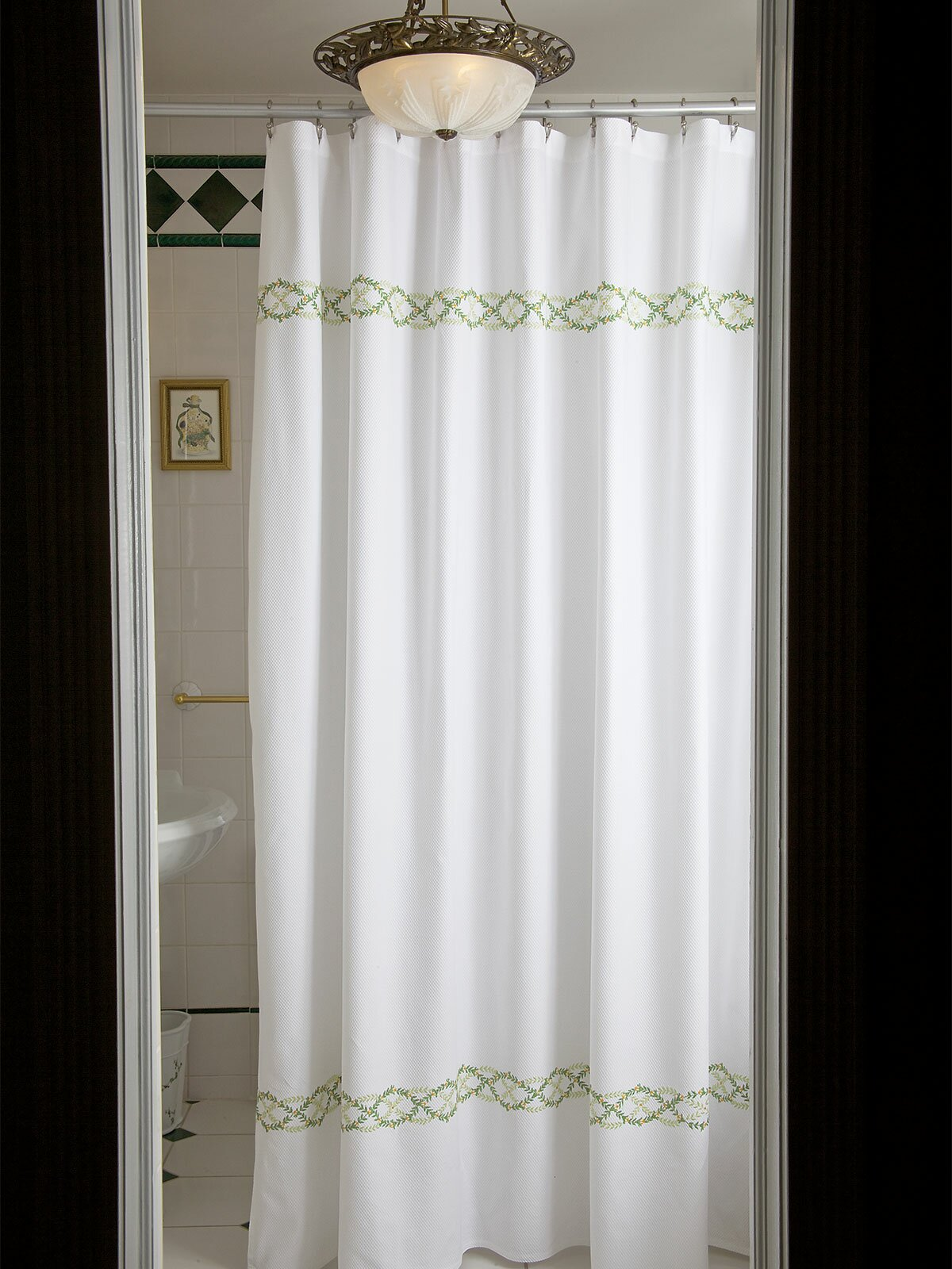 Bronze Shower Curtain Rod Curtain Crafty Inspiration