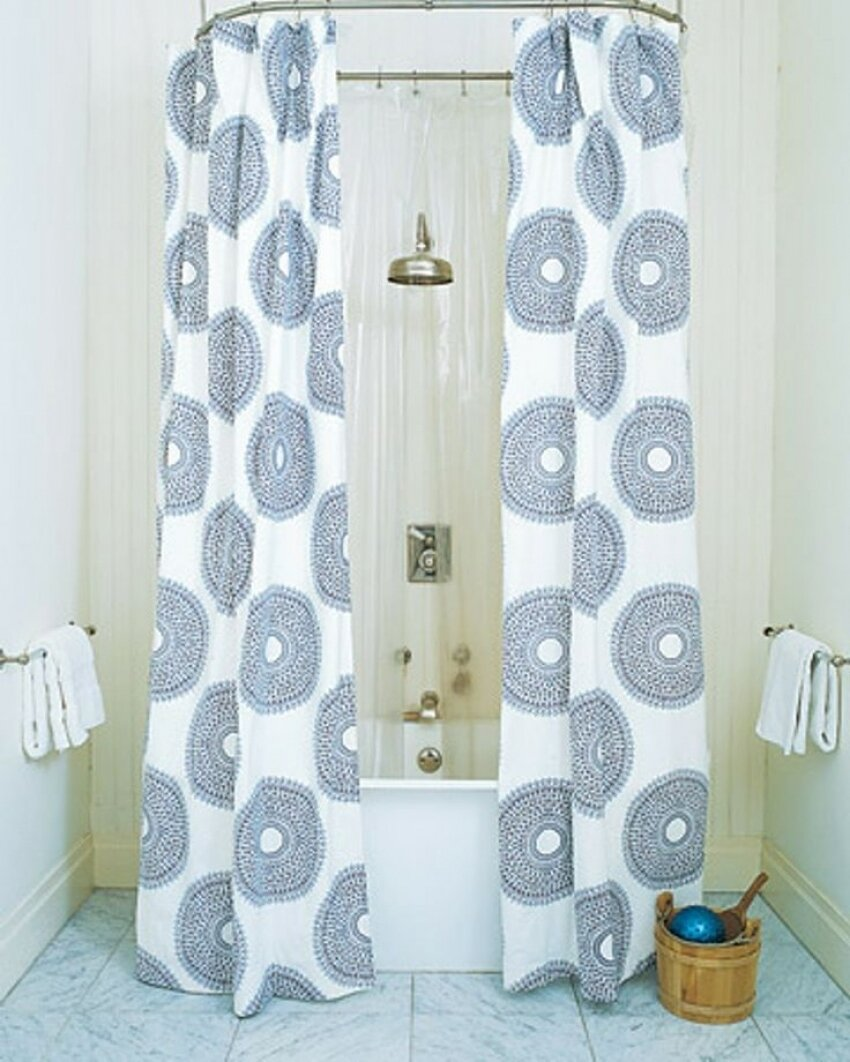 Curtain Interesting Bathroom Decor Ideas With Restoration