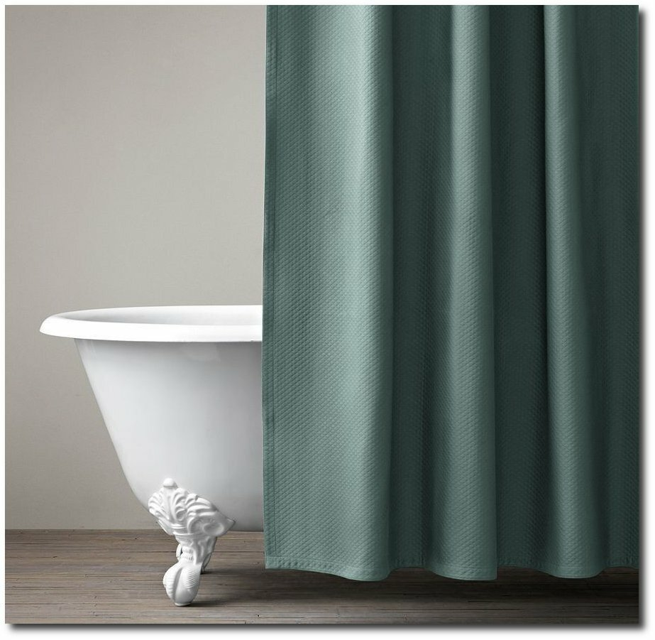 Interesting Bathroom Decor Ideas with Restoration Hardware Shower Curtain: Restoration Hardware Shower Curtains | Restoration Hardware Shower Curtain | Restoration Hardware Curtains