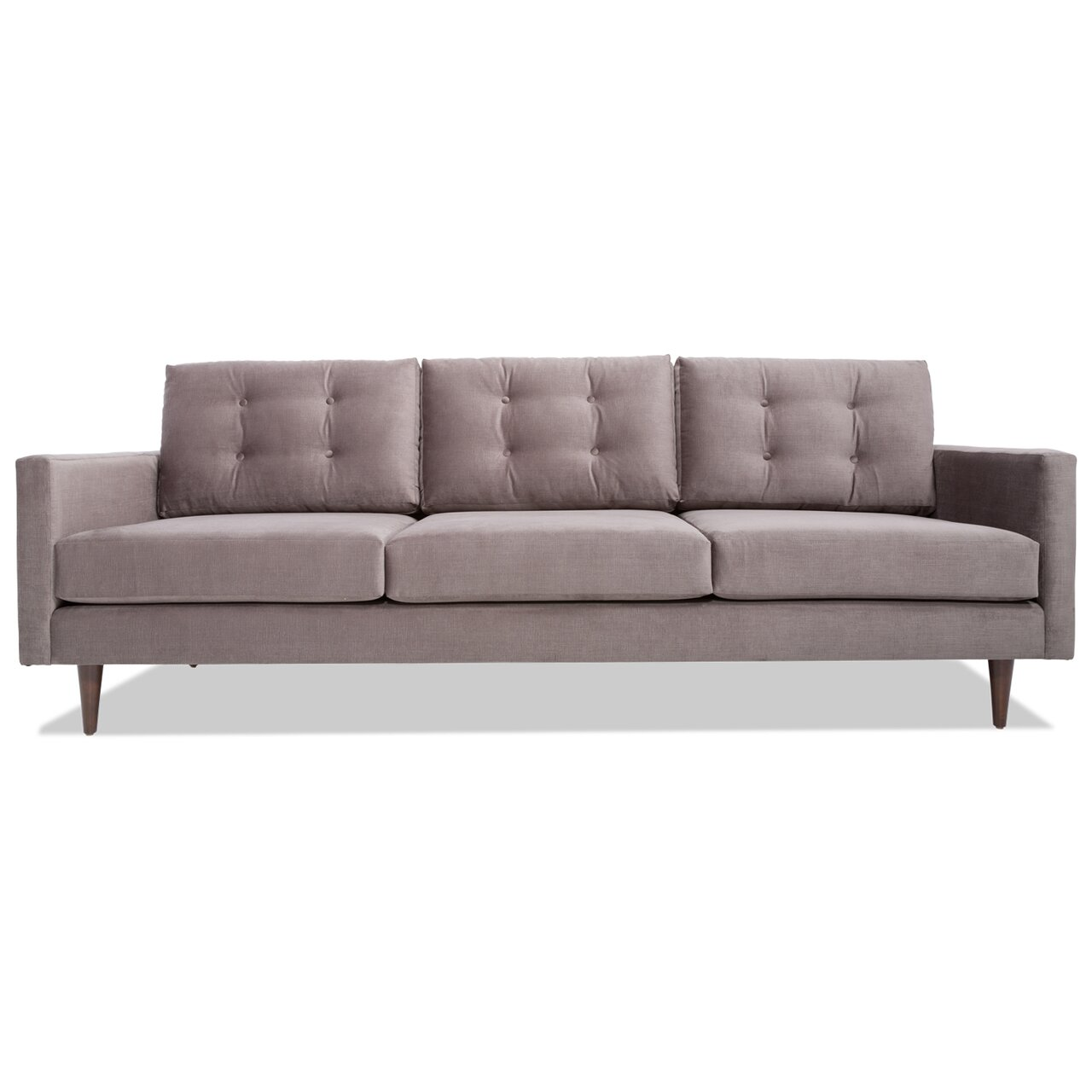 Danish modern sleeper sofa danish mid century modern back for Modern loveseat
