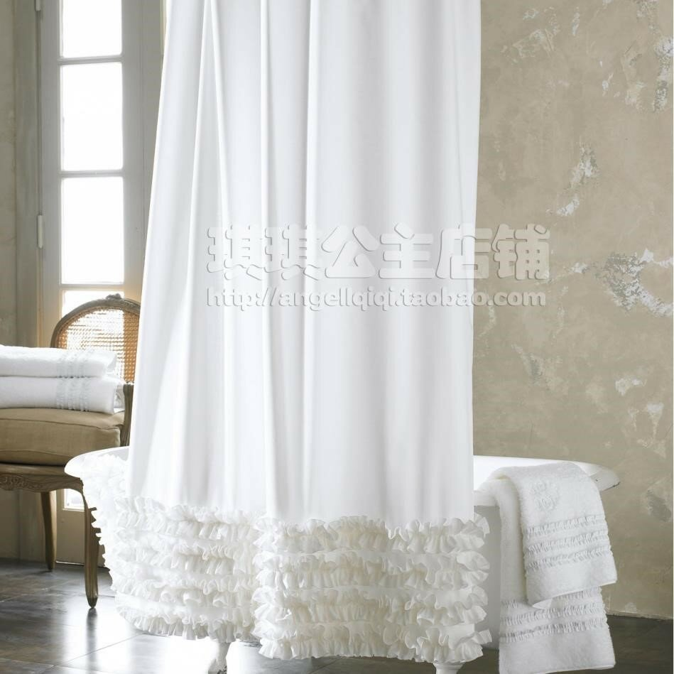 Fabric Shower Curtain Liner Interior Curtain Liner