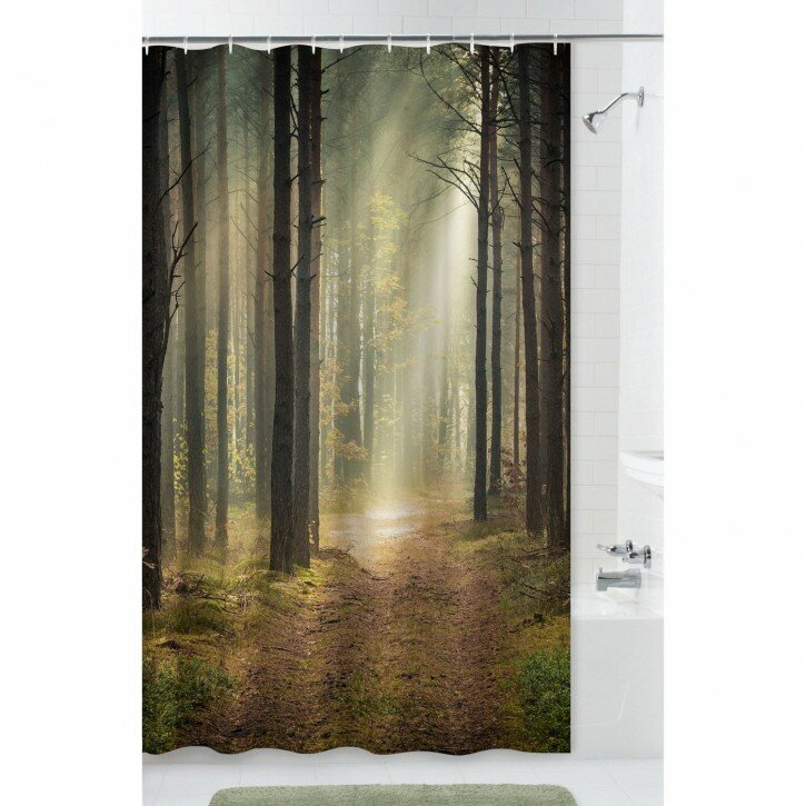 Curtain: Walmart Shower Curtain For Cute Your Bathroom Decor Ideas ...