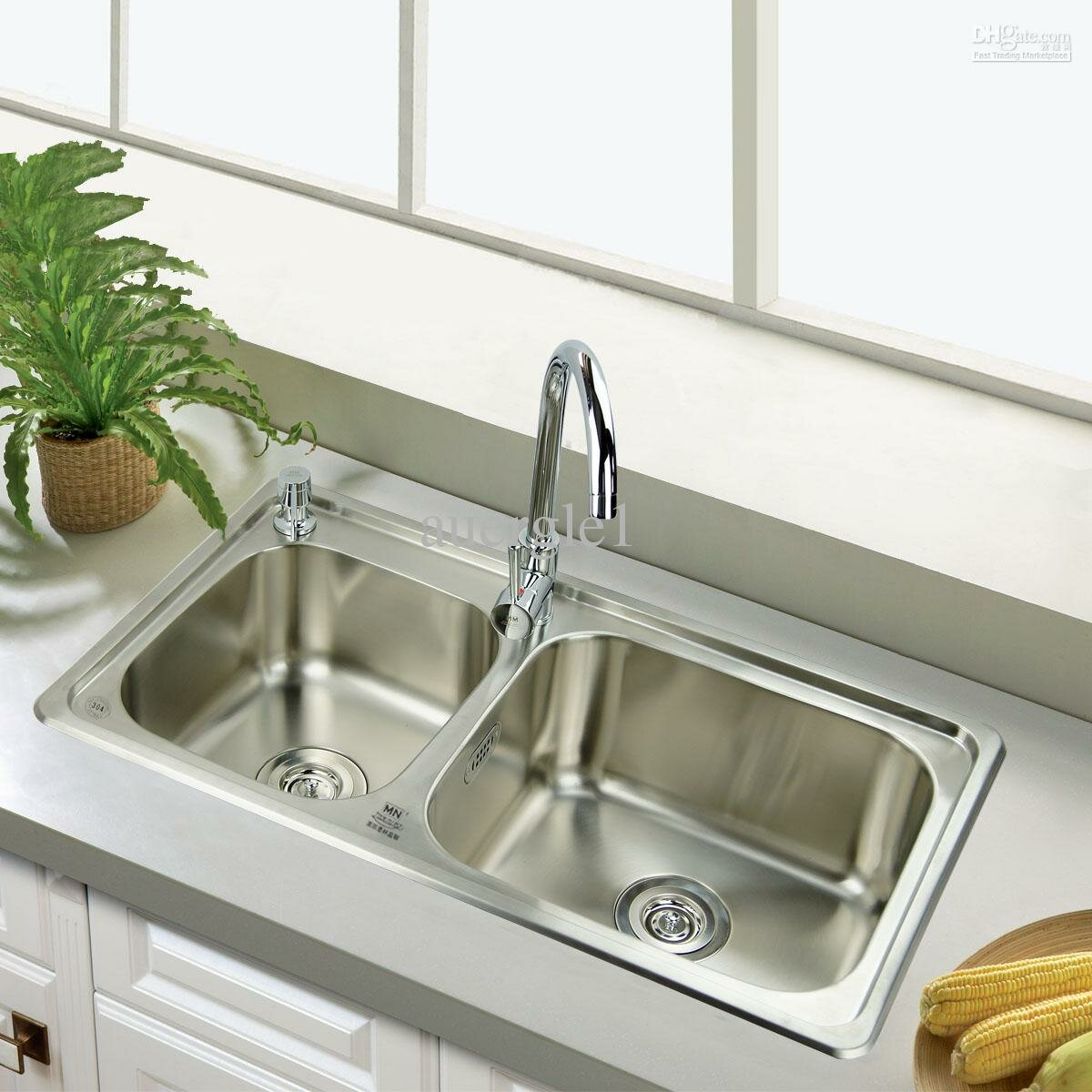 Cozy Kitchen Sinks Stainless Steel for Traditional Kitchen Design: Single Stainless Steel Kitchen Sink | Ss Sinks | Kitchen Sinks Stainless Steel
