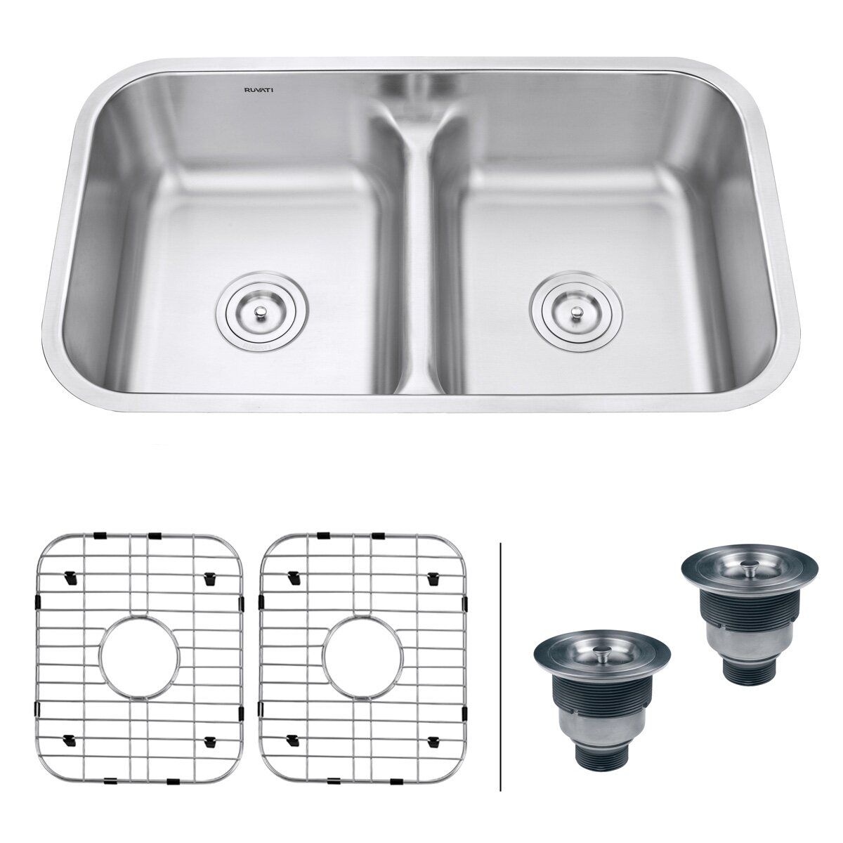 Stainless Steel Farmhouse Kitchen Sinks | Corner Stainless Steel Kitchen Sink | Kitchen Sinks Stainless Steel