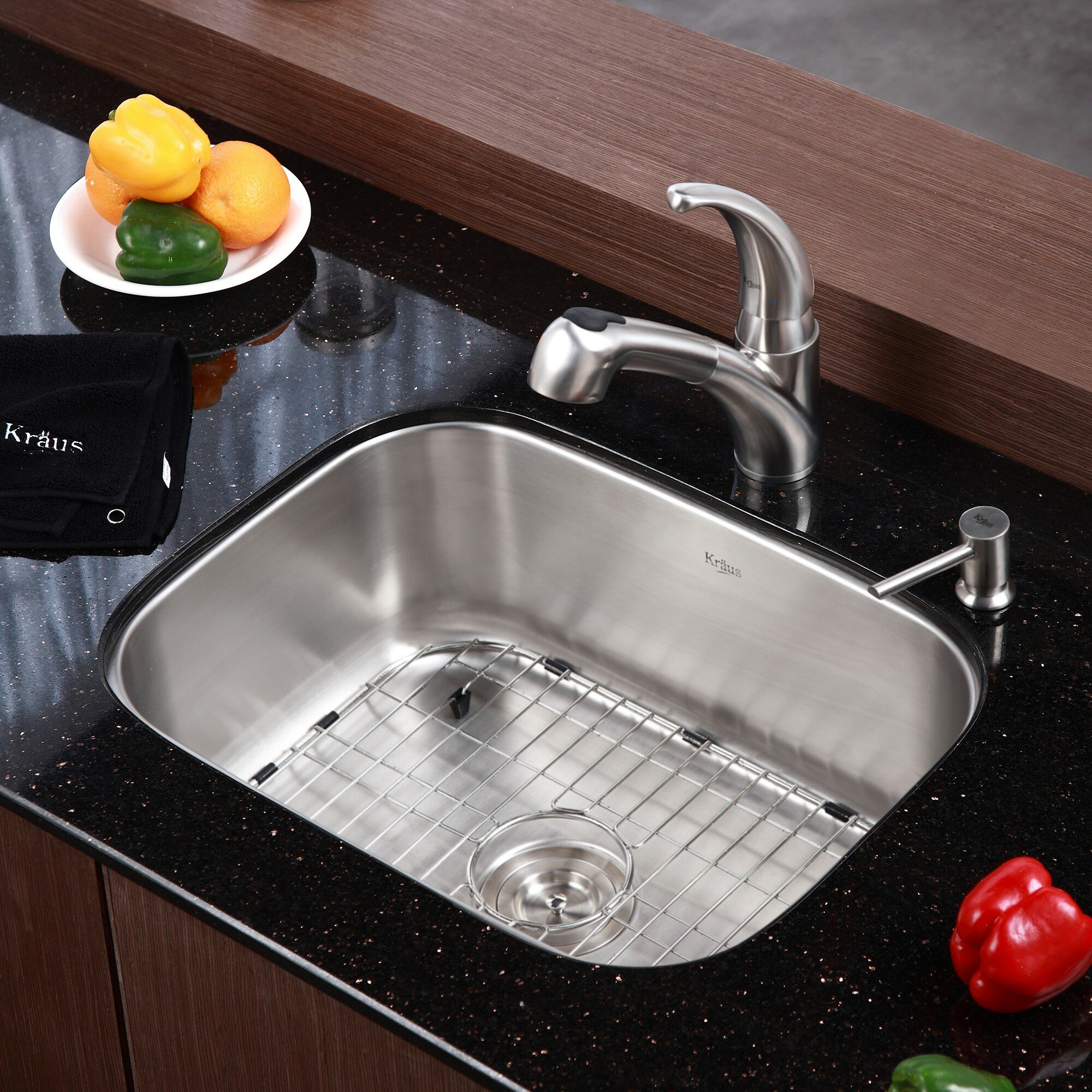 Stainless Steel Kitchen Sinks Top Mount | Kitchen Sinks Stainless Steel | Brushed Stainless Steel Undermount Kitchen Sink