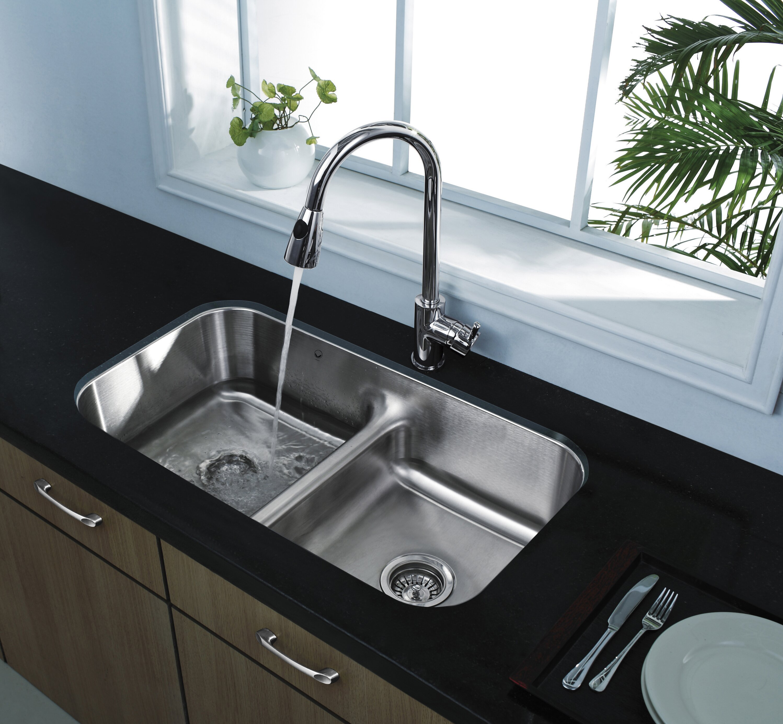 Kitchen: Cozy Kitchen Sinks Stainless Steel For Traditional ...