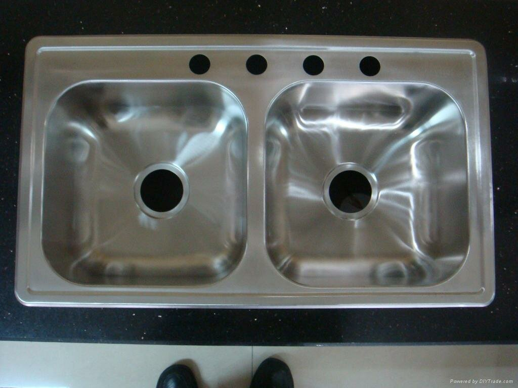 Stainless Steel Undermount Kitchen Sink Double Bowl | Stainless Steel Kitchen Sink | Kitchen Sinks Stainless Steel