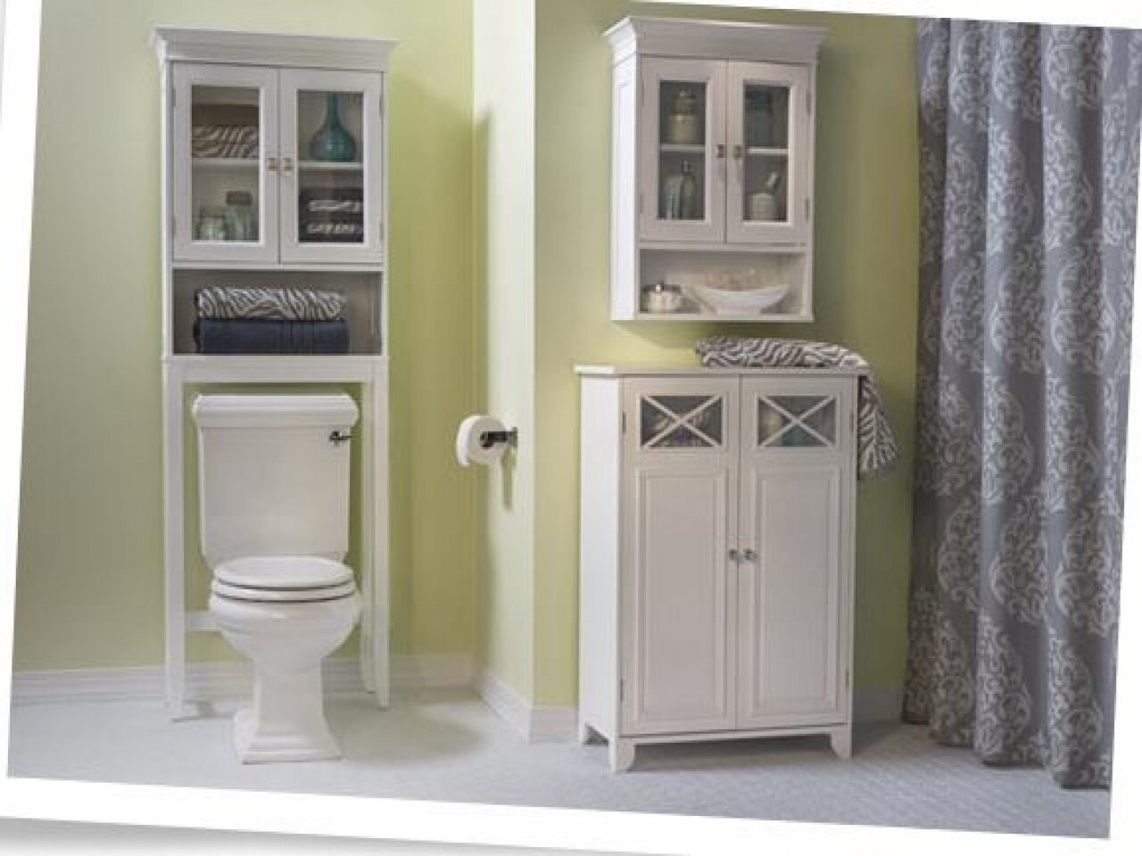 Bathroom Etagere bathroom: toilet organizer | toilet etagere | space saver cabinet