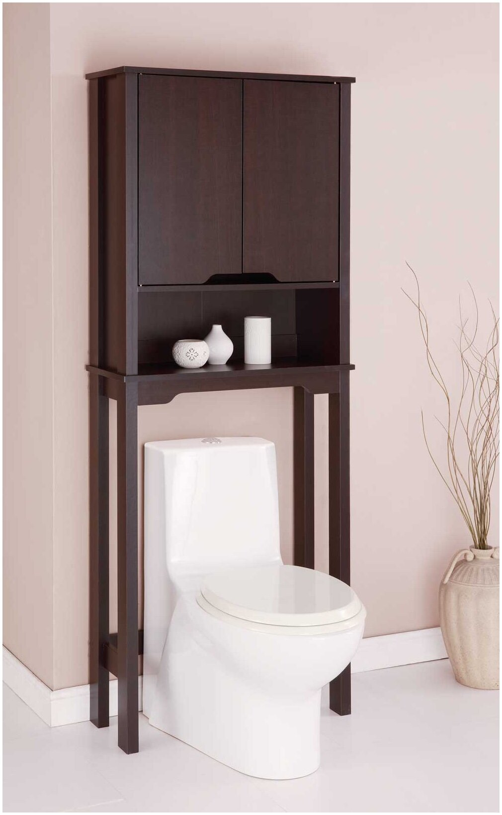 bathroom toilet etagere oak bathroom space saver over. Black Bedroom Furniture Sets. Home Design Ideas