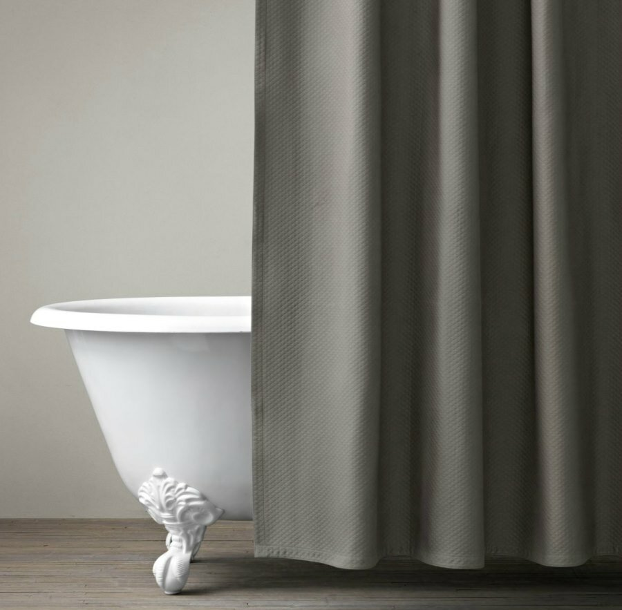 Tween Shower Curtain | Restoration Hardware Shower Curtain | 72x84 Shower Curtain
