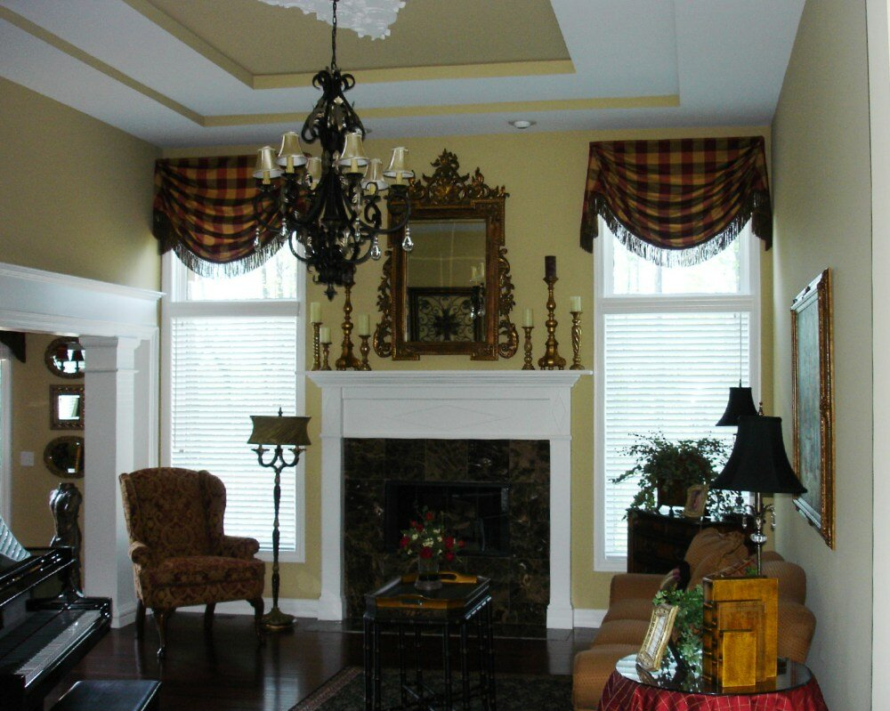 Valance Window Curtains | Curtain Valances for Bedroom | Living Room Valances