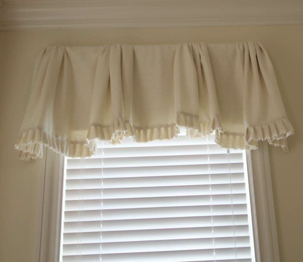 Valance Window Treatments | Window Valances for Bedroom | Living Room Valances