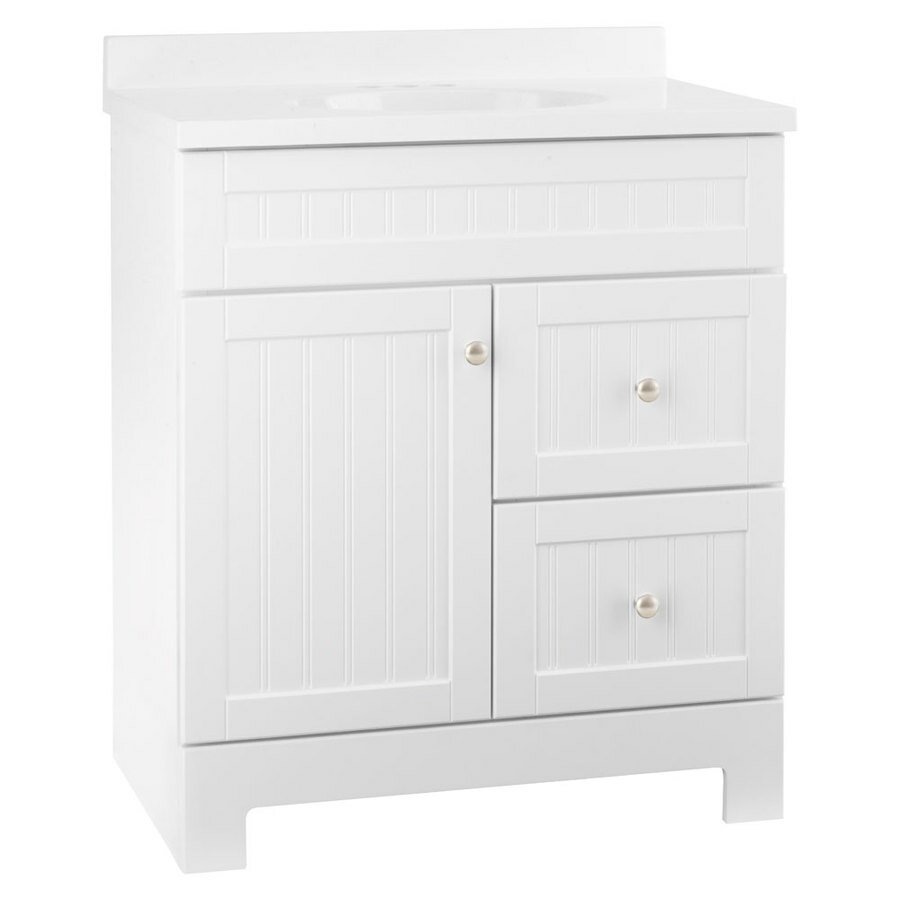 Lowes Bathroom Vanities 24 Inch | Bathroom Appealing Vanity Lowes For Simple Bathroom Storage