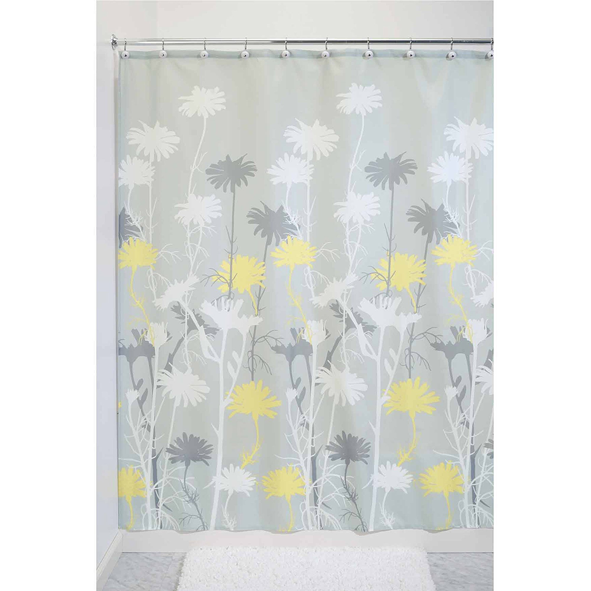 Walmart Shower Curtain for Cute Your Bathroom Decor Ideas: Walmart Fabric Shower Curtains | Hookless Shower Curtain Walmart | Walmart Shower Curtain