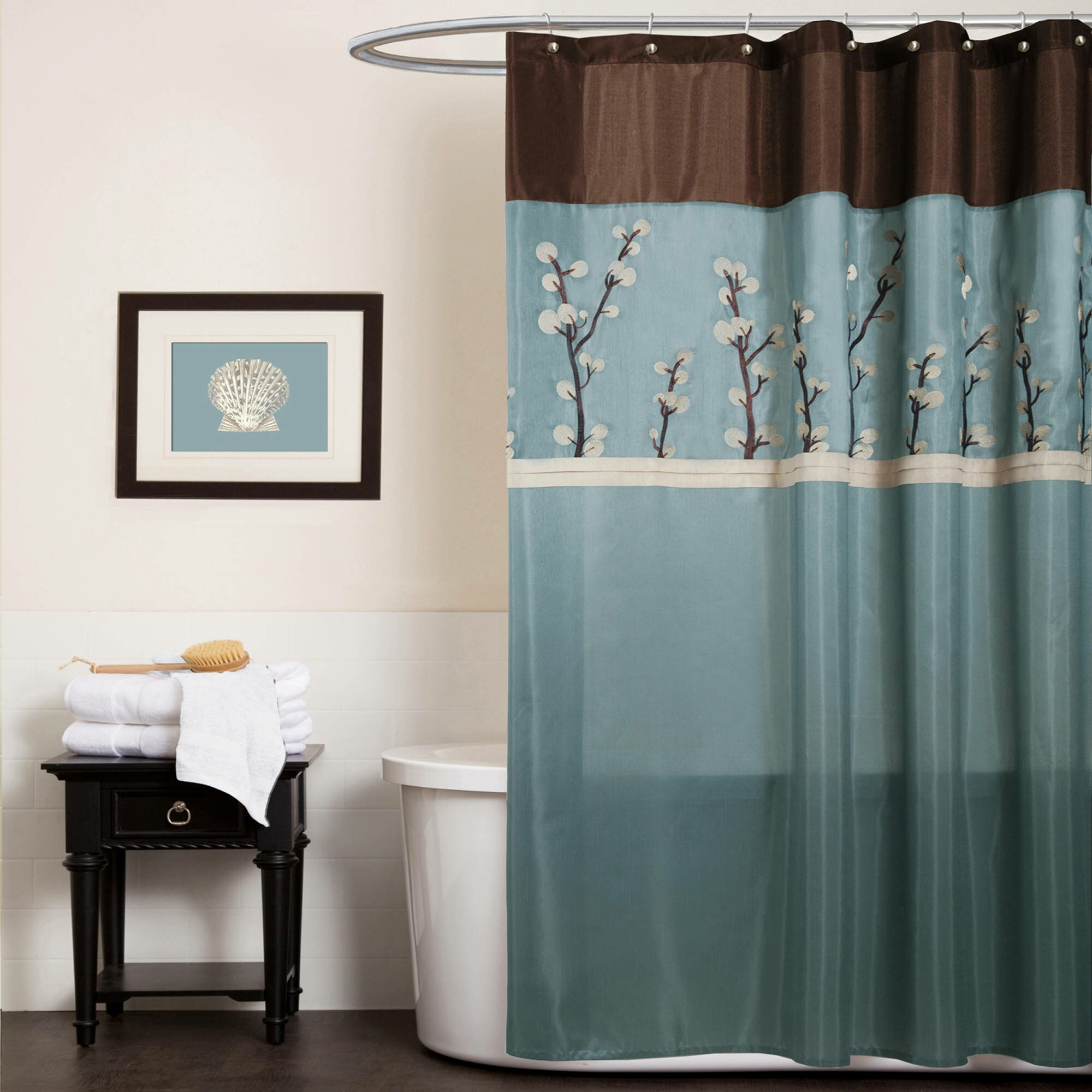 Walmart Shower Curtain | Shower Curtain Liner Walmart | Cheap Fabric Shower Curtains