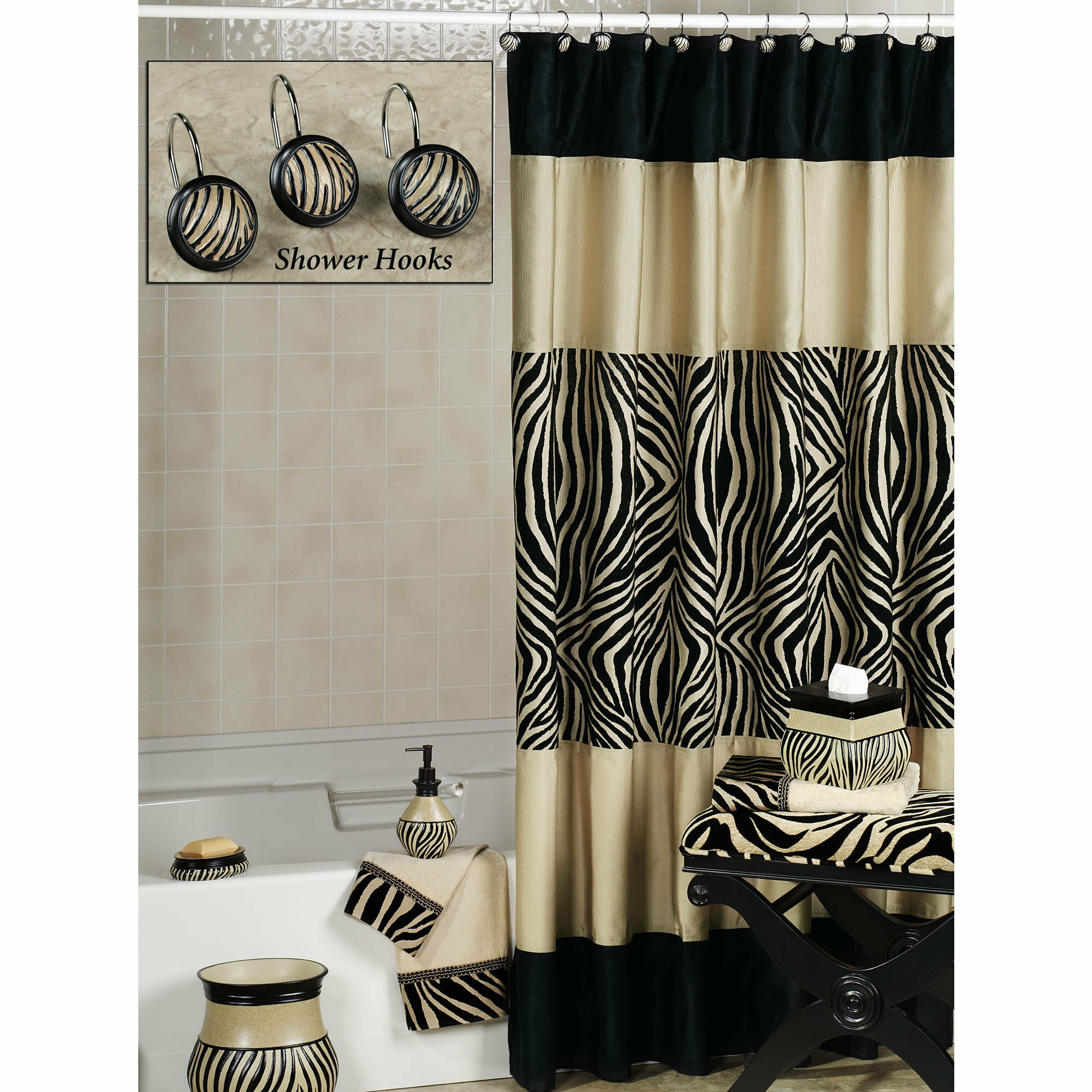 zebra bathroom design ideas