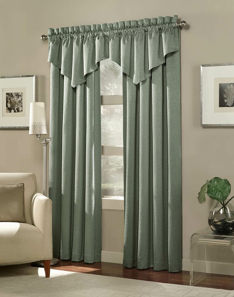Curtain cute living room valances for your home for Window valance