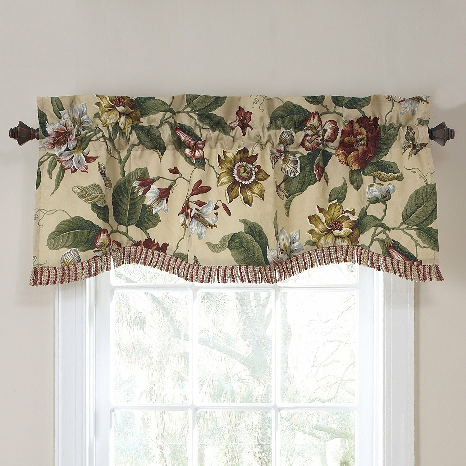 Window Treatments and Valances | Living Room Valances | Living Room Valance