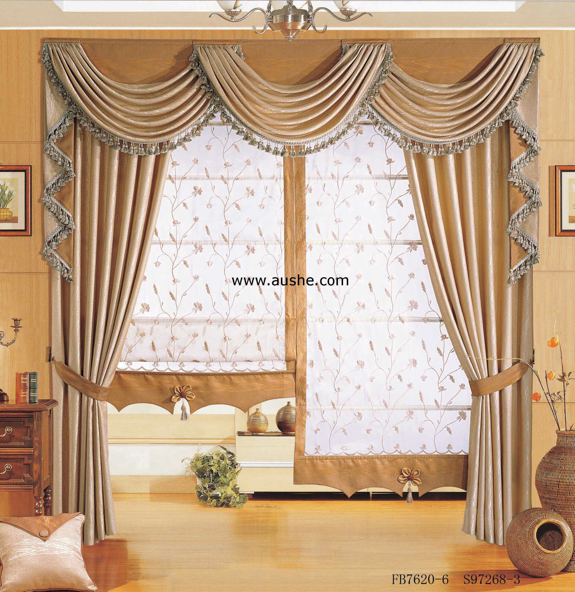 Curtain cute living room valances for your home for Window valances for bedroom