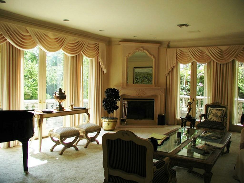 hgtv with decorating valances and color window design adding pattern treatments pictures room dining valance