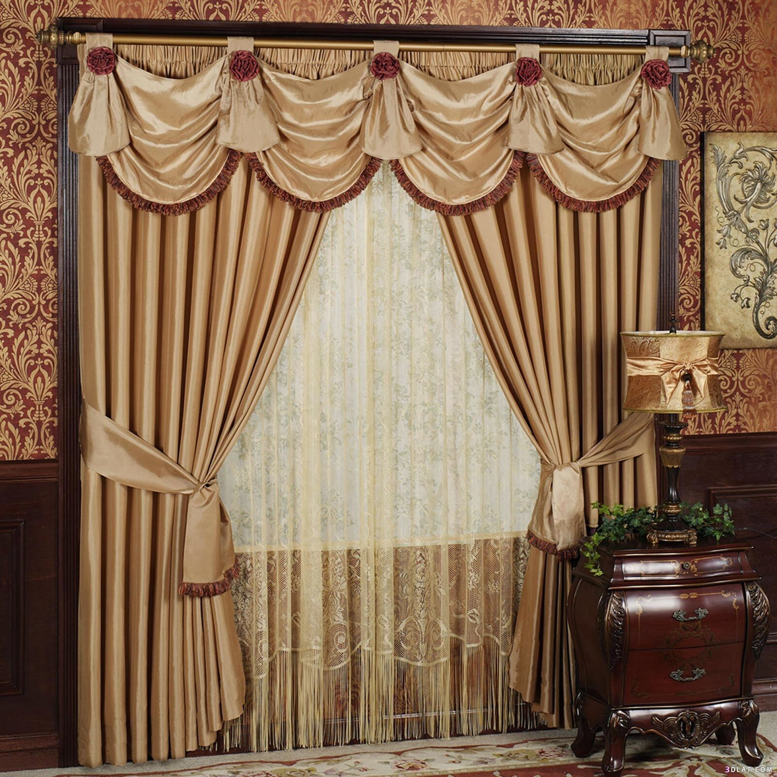 Windows Valances | Valances for Bedroom | Living Room Valances